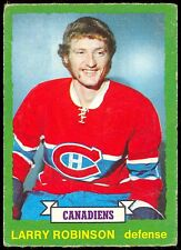 1973-74 OPC O PEE CHEE #237 LARRY ROBINSON RC VG-EX MONTREAL CANADIENS ROOKIE
