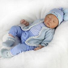 Realistic Handmade Reborn Baby Doll Newborn Lifelike Sleeping Boy 22''