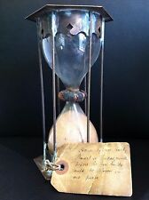 VERY RARE antique 17th century Hour glass maritime scientific Astronomy clock