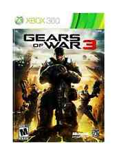 XBOX360 Gears of War 3 REPLACEMENT CASE ONLY (NO GAME)