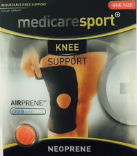 MEDICARE SPORT KNEE SUPPORT NEOPRENE WITH OPEN PATELLA - ONE SIZE
