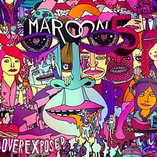 MAROON 5 Overexposed [EDITED](Deluxe Edition) (CD, 2012)[15 TRACKS] PAYPHONE NEW
