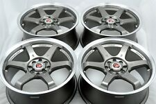 17 Drift rims wheels Civic Accord Cobalt Integra Corolla Sonata XB 4x100 4x114.3