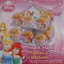 Party Cupcake Snack Stand DISNEY PRINCESSES Treats Birthday Supplies