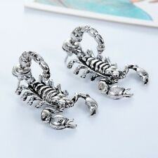 3D Ohrringe Skorpion Ohrstecker Earring Ear Cuff Sternzeichen star sign scorpio