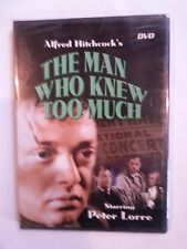 The Man Who Knew Too Much, (DVD 2004), Hitchcock, Lorre