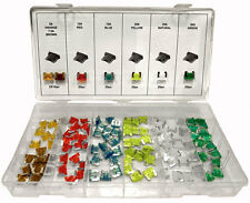 120 Pc Low Profile Mini Blade Fuse Assortment Set Auto Car Truck ATM W/Case