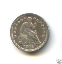 USA ETATS-UNIS HALF DIME LIBERTY SEATED 1842