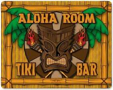 Aloha Room Tiki Bar Metal Sign Man Cave Garage Den Wall Decor Dan Statler VK002
