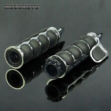 Custom Spike Style Motorcycle Handlebar Hand Grips Throttle Boss For Harley 25mm