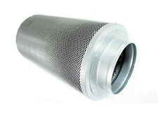 "6"" Inch Air Carbon Filter Inline Fan Scrubber Odor Control"