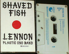 John Lennon Plastic Ono Band  Shaved Fish CASSETTE EMI APPLE TC-PCS 7173