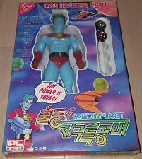 1993 Korean Captain Planet & The Planeteers Sofubi Soft Vinyl Figure Toy Vintage