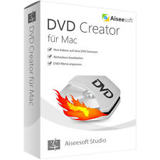 DVD Creator MAC Aiseesoft dt.Vollversion Lebenslange Lizenz  ESD Download