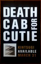 DEATH CAB FOR CUTIE Kintsugi 2015 Ltd Ed New RARE Poster +FREE Indie/Rock Poster