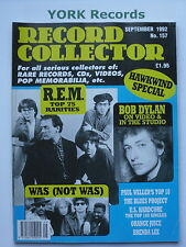 RECORD COLLECTOR MAGAZINE - Issue 157 September 1992 - REM / Bob Dylan