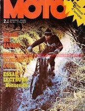 MOTO JOURNAL  103 TRIUMPH 650 Bonneville VINCENT EGLI 1000 YAMAHA DT 125 1973