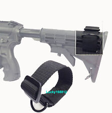 Heavy Duty Tactical Stock Sling Adapter with D Ring for Rifle Shotgun Buttstock