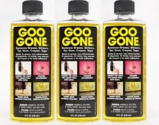 3 GOO GONE Grease Lipstick Sticker Crayon Gum Tar Tape Laundry Pre-Wash Cleaning