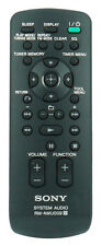 *NEW* Genuine Sony Remote Control For CMTFX350I CMT-FX350I