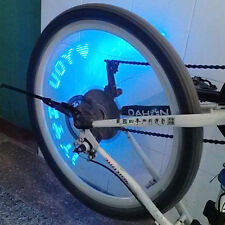 Blue LED Motorcycle Cycling Bike Bicycle Wheel Tire Valve Flash Light Lamp
