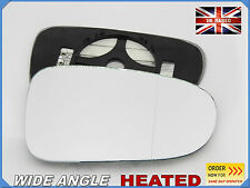 VW SHARAN 1995-2001 Wing Mirror Glass Aspheric HEATED Right Side