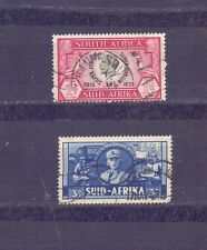 SOUTH AFRICA - SILVER JUBILEE STAMPS etc. - 2 nos. - used -  B 602