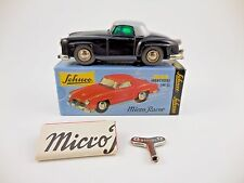 Schuco Micro Racer 1044 Mercedes 190 SL Black Silver Wind Up Car New in Box