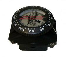 Storm Wrist Compass on a special Hose Mount for Scuba Diving Navigation