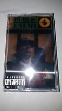 Public Enemy IT TAKES A NATION 2nd Album LENTICULAR New Black Cassette Tape