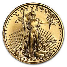 2002 1/10 oz Gold American Eagle Coin - SKU #4908