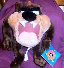 1997 Looney Tunes 14 Inch TAZ Plush With All Tags