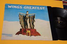 WINGS BEATLES LP GREATEST ORIG ITALY 1978 EX CON INNER
