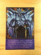 Obelisk The Tormentor Orica ENGLISH Full Holo Mint Anime 4Kids Yugioh