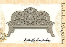 Garden Bench American made Steel Dies by La La Land Crafts DIE 8032 New