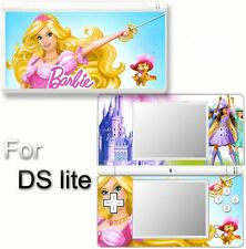 Barbie and 3 musketeers SKIN DECAL STICKER for DS Lite