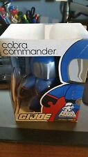 "MIGHTY MUGGS COBRA COMMANDER G.I.JOE FIGURE ""PACKAGE HAS SOME SCUFFS ON BOTTOM"""