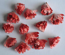 100 PINK RED GYPSOPHILA HEAD miniature Mulbery Paper Flowers for wedding crafts
