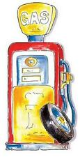 Gas Pump for Boys Room of Cars Mini Mural SW90401A