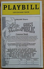 The Best Little Whorehouse Goes Public programme Lunt-Fontanne Theatre 1994