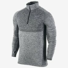 Nike Dri-Fit Knit Half-Zip Men's Running Shirt (XL) 717748 010