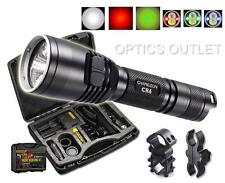 Nitecore CR6 440 Lumens Rechargeable Hunting Flashlight w/ Red White Green Beams