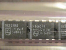NE592N8 PHILIPS Video Amplifier 8pin Dip IC 1 piece New