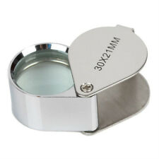 New 30x 21mm Glass Loop Magnifying Magnifier Jeweler Watch Loupe