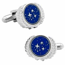 Official Star Trek United Federation of Planets Logo Boxed Cufflinks - Mens