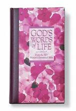 GOD'S WORDS OF LIFE-FROM THE NIV WOMEN'S DEVOTIONAL BIBLE