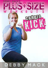 Debby Mack's Plus Size Workouts: Cardio Kick (DVD, 2014)