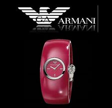 EMPORIO ARMANI WOMEN'S PINK BANGLE WATCH COLLECTION AR0741
