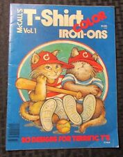 1977 McCall's T-SHIRT COLOR IRON-ONS v.1 FN- Complete