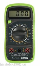 SEALEY WINTER SALE Digital Multimeter 8 Function + Thermocouple Hi-Viz Green